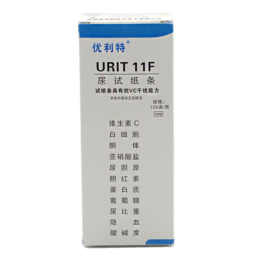 优利特 尿试纸条 URIT-11F 100T